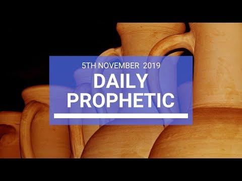 Daily Prophetic 5 November Word 2