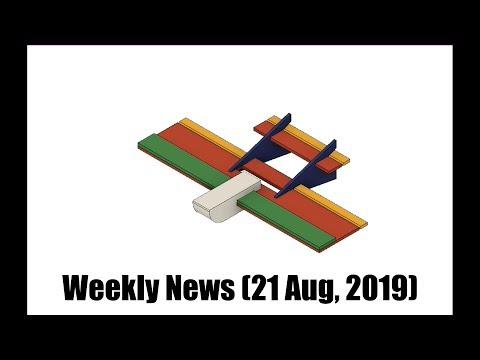 Weekly News (21 Aug, 2019) Drones, RC planes, FPV, etc. - UCahqHsTaADV8MMmj2D5i1Vw