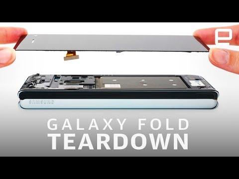 iFixit tears down Samsung's 'improved' Galaxy Fold - UC-6OW5aJYBFM33zXQlBKPNA