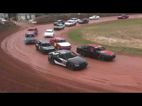 Production Saloons Taipa Speedway 2021 - dirt track racing video image