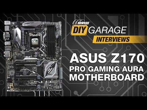 Newegg DIY Garage: ASUS Z170 Pro Gaming AURA Motherboard - UCJ1rSlahM7TYWGxEscL0g7Q