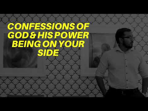 CONFESSIONS OF GOD & HIS POWER ON YOUR SIDE, & FIGHTING FOR YOU - EVANGELIST GABRIEL FERNANDES