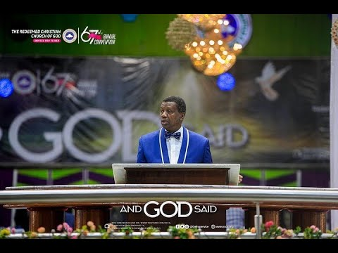 PASTOR E.A ADEBOYE SERMON  DAY 1 RCCG HOLY GHOST CONVENTION 2019