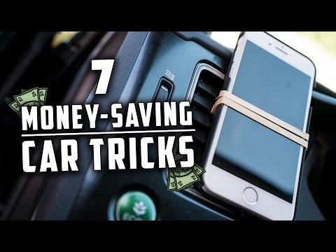 7 Money Saving Tricks For Your Car