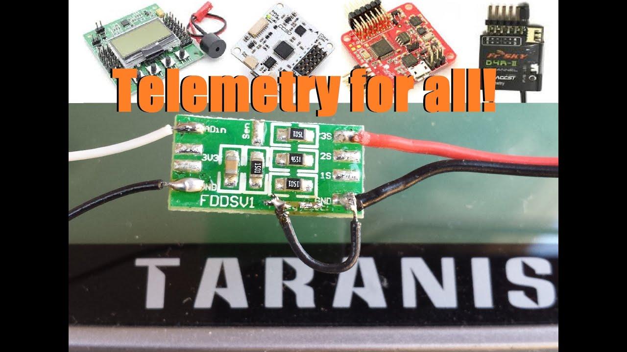 FBVS-01, D4R-II, and the Taranis - Setting up Telemetry | Racer lt