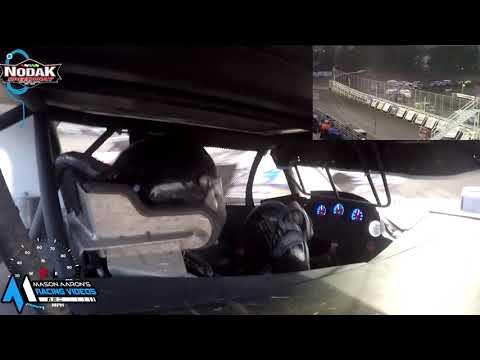 #3S Logan Schmitz IMCA Sport Mod On-Board @ Nodak (8/8/21) - dirt track racing video image