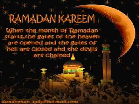 Ramadan Kareem in different countries