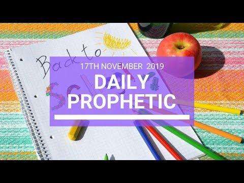 Daily Prophetic 17 November Word 3