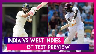 India vs West Indies 1st Test Match 2019 Preview: Virat Kohli & Co Aim to Continue Series Dominance.