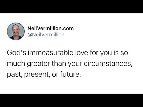 The Presence Of My Great Love For You - Daily Prophetic Word