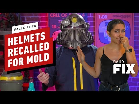 20,000 Fallout 76 Power Armor Helmets Recalled for Mold Exposure - The Daily Fix - UCKy1dAqELo0zrOtPkf0eTMw