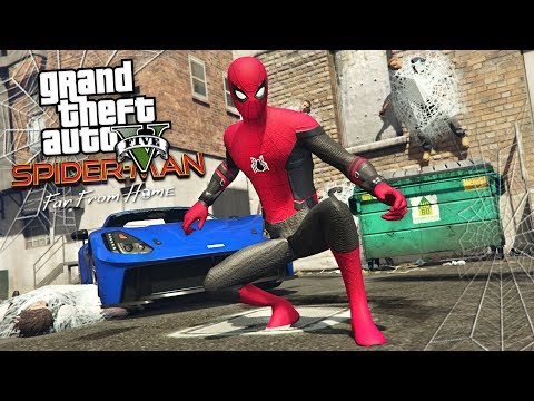 SPIDER-MAN: FAR FROM HOME!! (GTA 5 Mods) - UC2wKfjlioOCLP4xQMOWNcgg