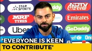 'Very Comfortable With The Team', Says Virat Kohli On Middle Order's Contribution