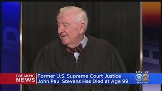Former SCOTUS Justice John Paul Stevens Dead At 99
