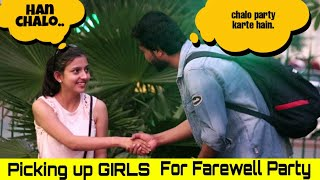 Picking Up Girls For Farewell Party | Yash Choudhary