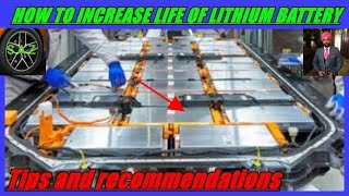 How to increase life of Lithium ion battery//lithium ion battery life.