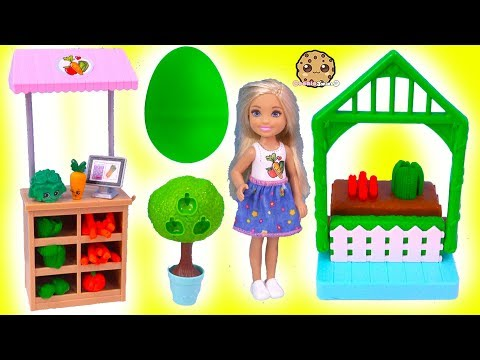 Barbie Kid Chelsea Farmer Doh Play Set + Surprise EGG In Garden - UCelMeixAOTs2OQAAi9wU8-g