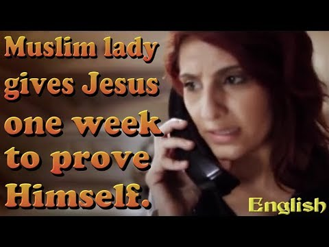 English: Padina's Story: Muslim woman gives Jesus 1 Week to show up, and He does.