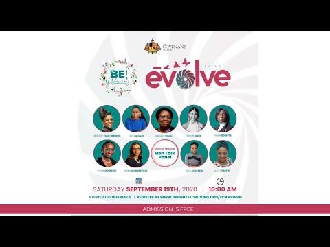 EVOLVE  BE! Women's Conference 2020  190920  Men's Talk Panel
