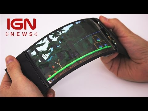 Flexible Smartphone Lets Users Control Their Apps With Bending - IGN News - UCKy1dAqELo0zrOtPkf0eTMw