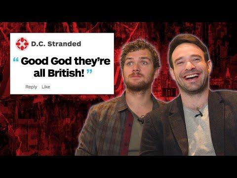 Daredevil & Iron Fist Respond to IGN Comments - UCKy1dAqELo0zrOtPkf0eTMw