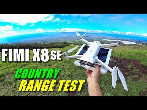 FIMI X8 SE Range Test in Country - How Far Will it Go? [No Interference & No Boosters] - UCVQWy-DTLpRqnuA17WZkjRQ