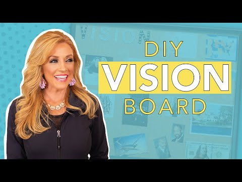 DIY Vision Board Tutorial