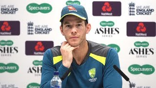 Tim Paine Reacts To Draw Against England In Second Ashes Test - Full Press Conference