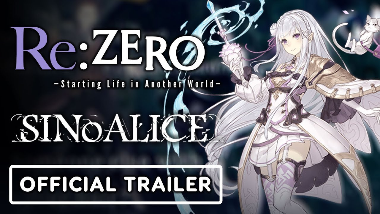 SINoALICE x Re:ZERO Starting Life in Another World – Official Collaboration Trailer