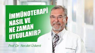 İmmünoterapi nasıl ve ne zaman uygulanır? - Prof. Dr. Necdet Üskent