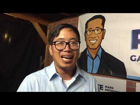 Đêm đợi đến phiếu: Mark Anthony Paredes