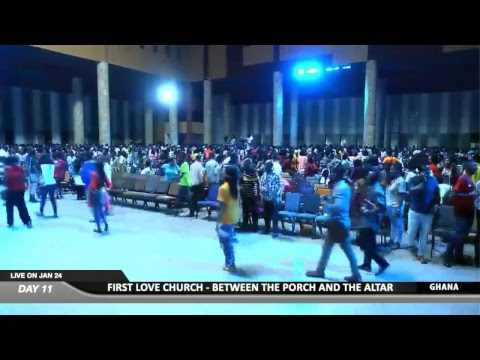 WATCH BETWEEN THE PORCH AND THE ALTAR 2019, LIVE FROM THE ANAGKAZO CAMPUS, MAMPONG - GHANA. DAY 11.