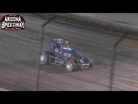 Az Speedway  Hall of Fame Classic  ASCS Desert Sprint Car Heats 10.4.21 - dirt track racing video image