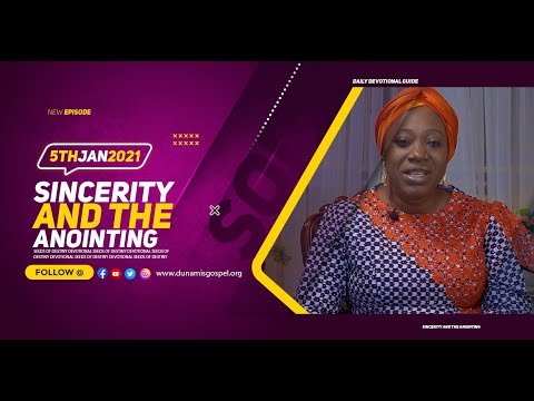 Dr Becky Paul-Enenche - SEEDS OF DESTINY  TUESDAY JANUARY 5, 2021