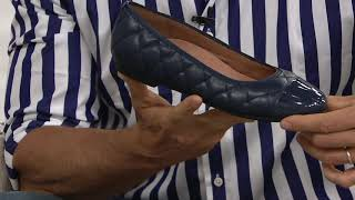 Vionic Quilted Leather Flats - Desiree on QVC