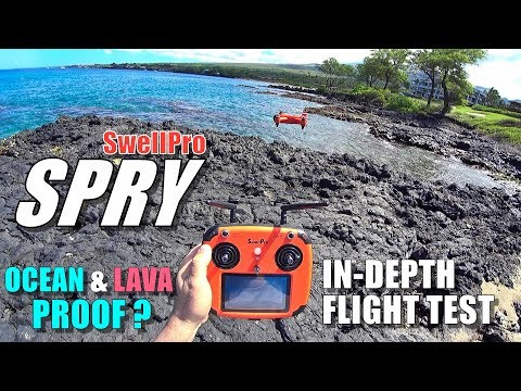 SwellPro Waterproof SPRY Drone IN-DEPTH Flight Test Review - OCEAN PROOF? - UCVQWy-DTLpRqnuA17WZkjRQ