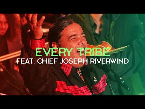 Native American Chief Joseph RiverWind in Jerusalem! EVERY TRIBE // LIVE at the TOWER of DAVID