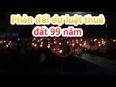 Nam Đàn: Lửa biểu tình phản đối dự luật thuê đất 99 năm