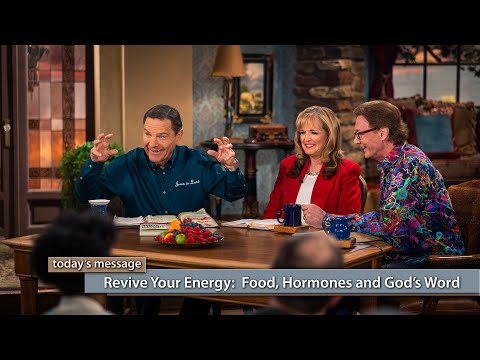 Revive Your Energy: Food, Hormones and Gods Word