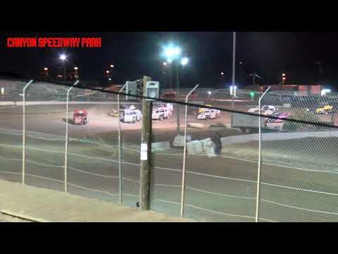 Canyon Speedway Park  IMCA SportMod Main   April 10 2021 - dirt track racing video image
