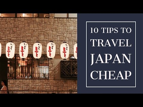 10 TIPS to travel Japan on a budget   Psychologist watching