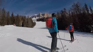 Ski Safari Day 4 S. Croce and Kronplatz