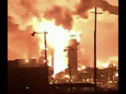 Breaking Texas Chemicals Plant Exploded