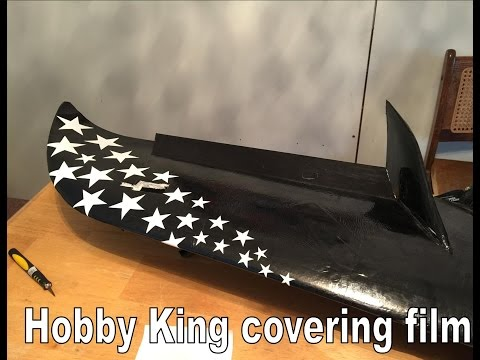 Covering a foam RC plane with covering film from Hobby King - UCArUHW6JejplPvXW39ua-hQ