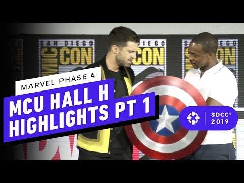 Marvel Studios: MCU Phase 4 Hall H Panel Highlights Pt. 1 - Comic Con 2019 - UCKy1dAqELo0zrOtPkf0eTMw