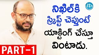 Director Vi Anand Exclusive Interview Part #1 || Talking Movies With iDream
