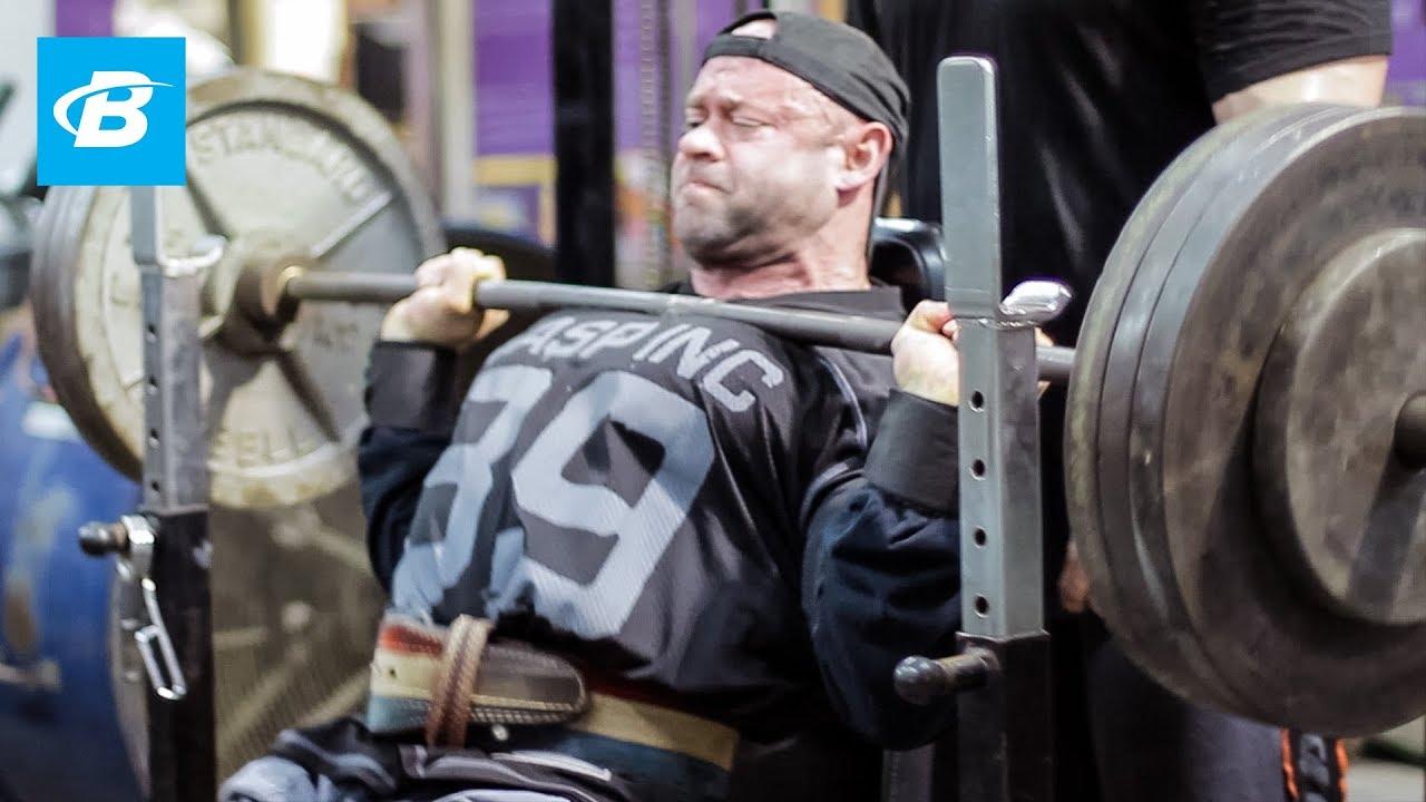 Branch Warren Shoulder Workout | 2012 Road To The Arnold
