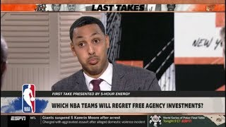 Ryan Hollins DISAGREEMENT Is Andre Iguodala a hall of famer? | FIRST TAKE 7/16/2019