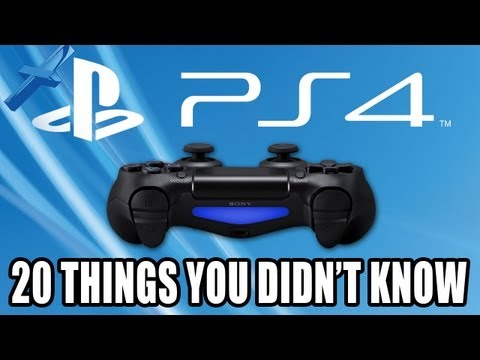 PS4: 20 Things You Didn't Know About PlayStation 4 - UC6yzV_xgKn8r77FkcmZyMSg