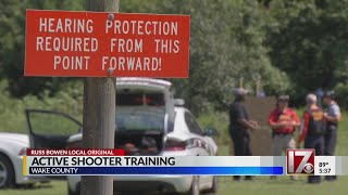 Wake County school resource officers prepare for active-shooter situations